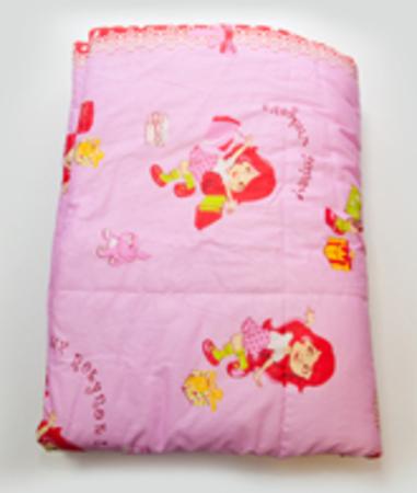Одеяло стеганное (120х125), синтепон 3 слоя